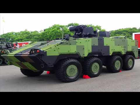 Taiwan Displays New Cloud Leopard II Armoured Fighting Vehicle At TADTE 2017