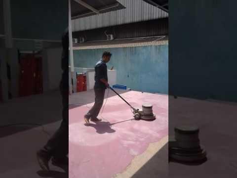 Cara pengerjaan epoxy lantai