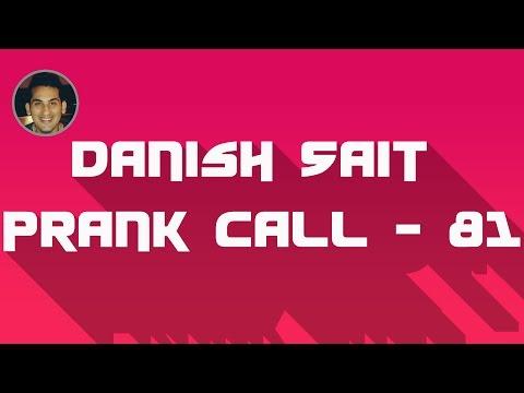 Asgar tries SRK style - Danish Sait Prank Call 81