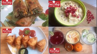 Complete Menu for IFTAR/Iftari Special Recipes(Ramadan Kareem)by Food Cottage