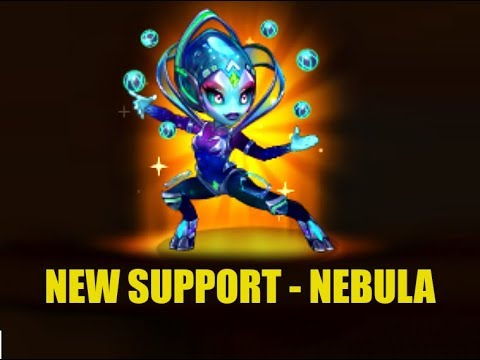 NEW SUPPORT - NEBULA | HERO WARS