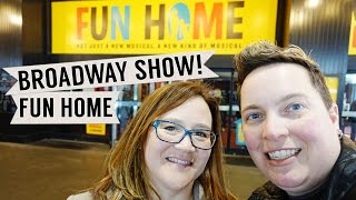 Our Date: Fun Home on Broadway (an LGBT musical)