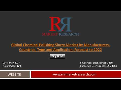 Chemical Polishing Slurry Market 2017 - Global Industry Analysis, Size,Trends and Forecast - 2022