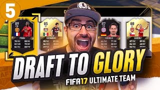 INSANE UNSEEN LEGEND!! DRAFT TO GLORY! FIFA 17 ULTIMATE TEAM #05