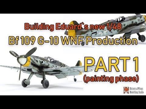 Building Eduard`s New Bf109 G10 WNF Production Part 1