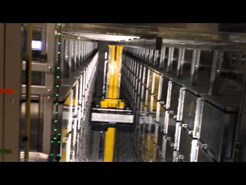 Underground Library Retrieval System, University of Technology, Sydney
