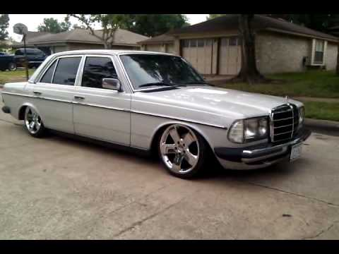 1981 mercedes benz 240d bagged w123 mb - youtube