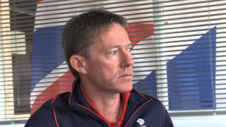 Super Sunday - Stephen Park talks to Penny Clark about the week of medal races