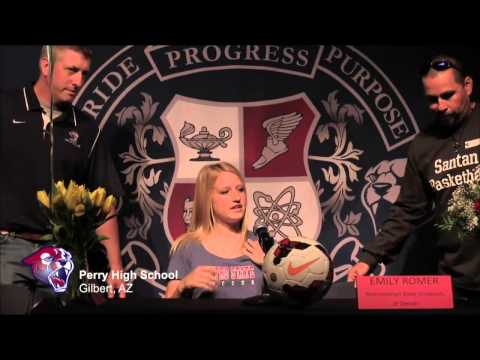 Letter of Intent Day 2015 - Perry High School