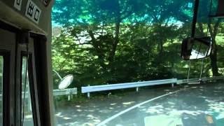 【前面展望】横川駅前ー軽井沢駅【JRバス横軽線・特撮ロケ付き】