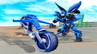 Bike Games - Flying Bike Steel Robots - Gameplay Android free games