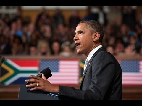 President Obama Speaks at the University of Cape Town