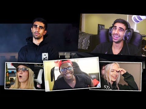 REACTING TO THE END - SIDEMEN DISS TRACK REPLY REACTIONS