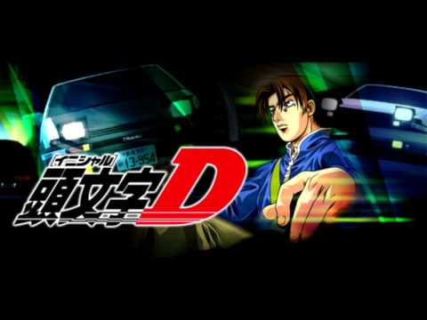 Initial D 1st Stage Ending 1   Rage your Dream   M O V E