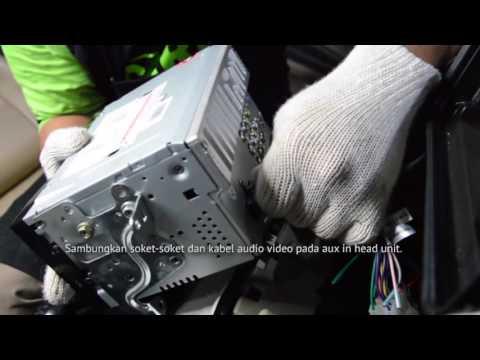 Cara pasang TV mobil ( TV kabel Nexdrive) pada Toyota Avanza dan daihatsu Xenia