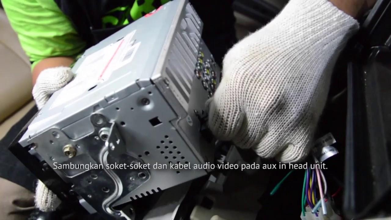 Cara Pasang Tv Mobil Kabel Nexdrive Pada Toyota Avanza Dan Headunit Doubledin Jec Audiobank Daihatsu Xenia