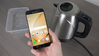 Samsung Galaxy S7 Hot Boiling Water Test! How Will It React?