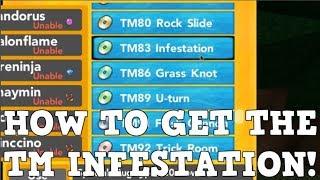 COMMENT À GET THE NEW INFESTATION TM! Roblox Pokemon Brick Bronze
