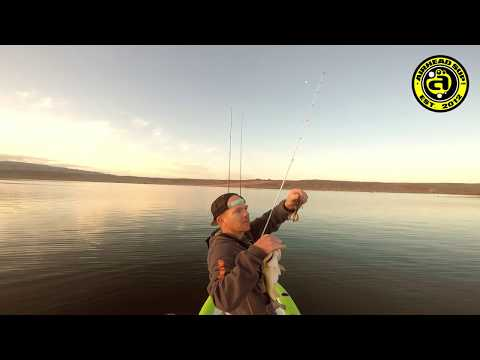 Sand Hollow State Park Bass Fishing From A Paddle Board W/ JB Spilker