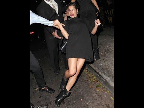 Oops! Dancing With The Stars winner Kelly Monaco fell down
