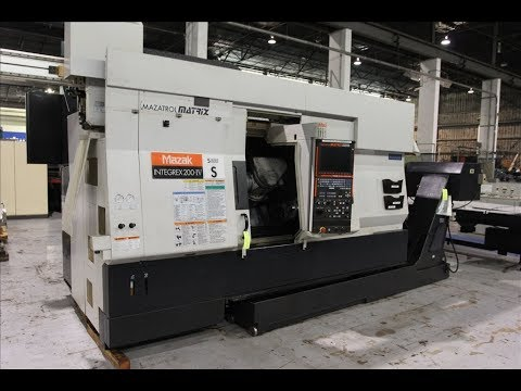 Mazak Integrex 200-IVS CNC Mill Turn