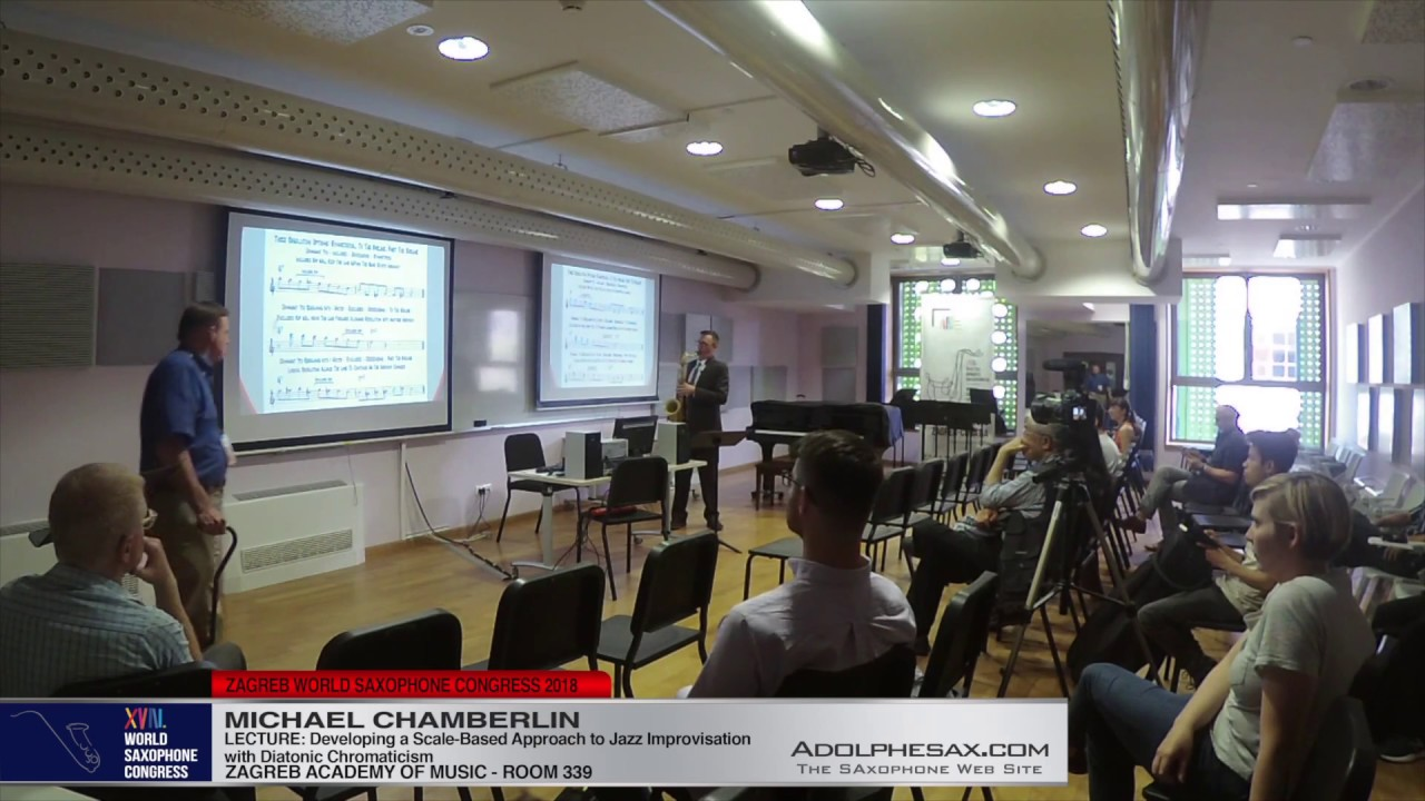 LECTURE: Developing a Scale Based Approach to Jazz Improvisation with Diatonic Chromaticism - Michael Chamberlin