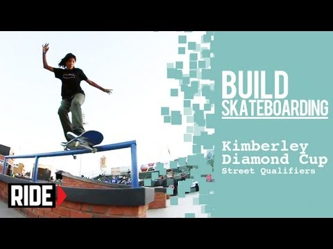 Alec Majerus Louie Lopez Nyjah Huston and More Kimberley Diamond Cup 2013 — Street Qualifiers