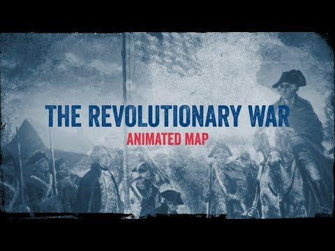 The Revolutionary War: Animated Battle Map