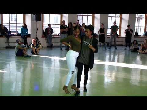 Montreal is Kizomba 2018 Pilou & Tarah Let your soul dance