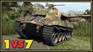 Škoda T 50 - 12 Kills - 1 VS 7 - World of Tanks Gameplay