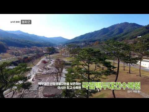 아시아 최고 수목원 국립백두대간수목원