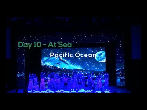 Day 10 - At Sea, Pacific Ocean