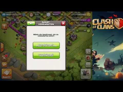 [Clash of Clans Tutorial #1] Geräte verknüpfen | German | HD