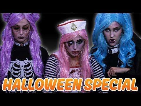 MOLLY SKRÄMMER OSS!!! – Halloween Special