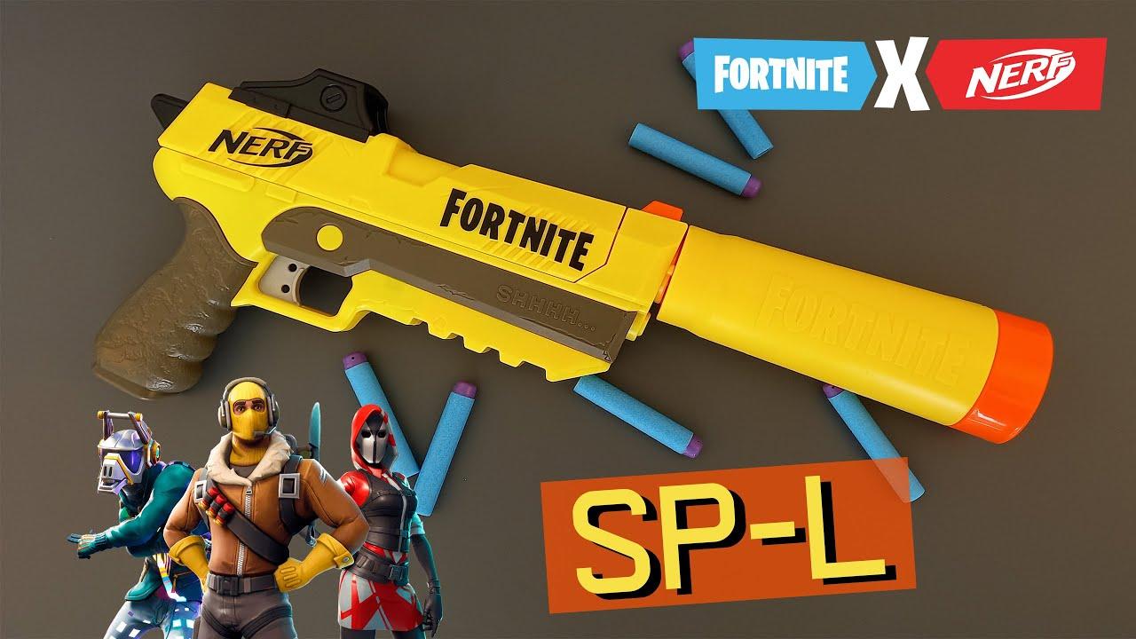 Review Súng Nerf Fortnite SP-L | Súng Lục Kiểu Steal Action