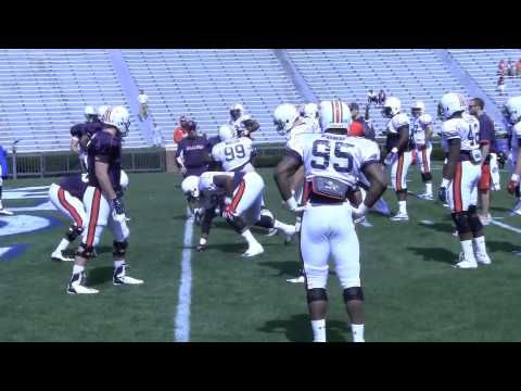 Auburn practice highlights 4-13-13