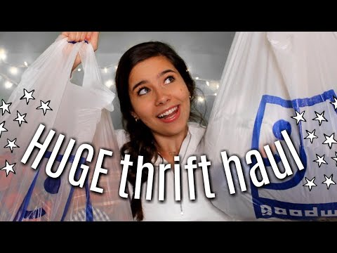 HUGE TRY-ON THRIFT HAUL