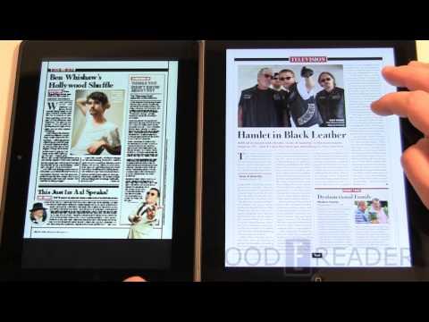 iPad 3 vs Amazon Kindle HD 8.9
