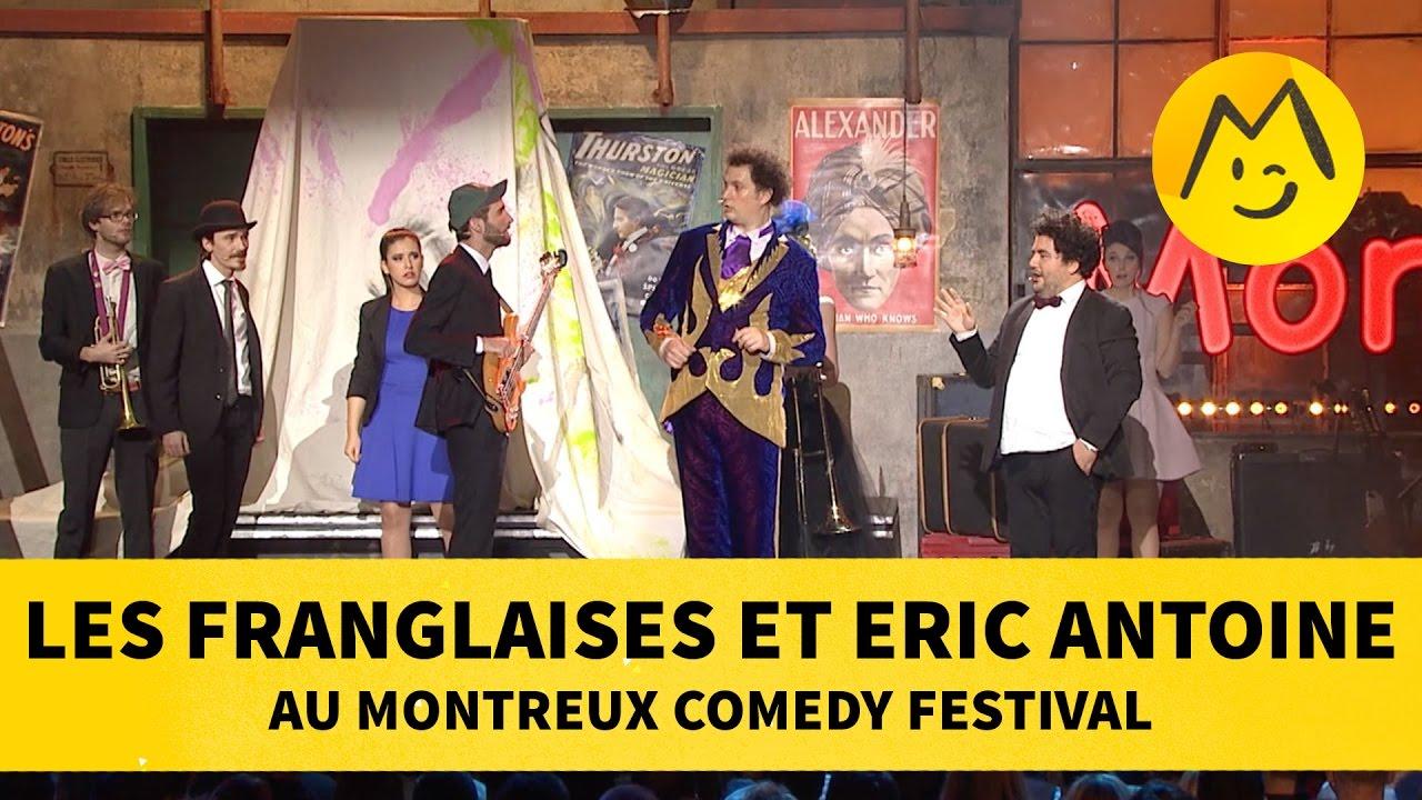 Les Franglaises et Eric Antoine au Montreux Comedy Festival