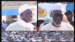 L'entrée de  Mbaye Gueye Fass et Balla Gaye 1 au stade