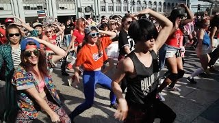 justin bieber s sorry flash mob takes over san francisco   kqed arts