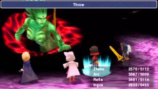 Final Fantasy III [PSP] - Final Bosses & Ending