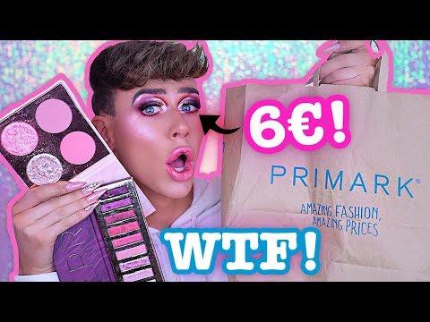 SO KRANK ist PRIMARK MAKEUP!! 6€ für Lidschatten! FULL FACE ONLY   Marvyn Macnificent