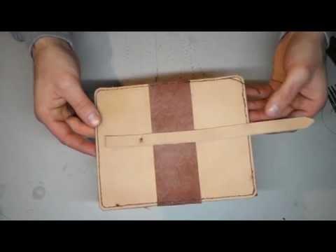 Libro porta cellulare in pelle fai da te youtube - Porta a libro fai da te ...