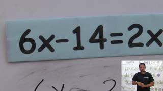 Secundaria clase: 58 Tema: Ecuaciones de primer grado