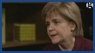 Nicola Sturgeon - SNP Leader Interview   General Election 2015