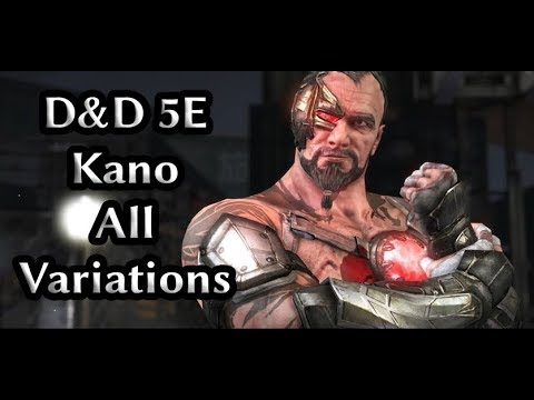 kano build: D&D 5E: All variations by Drow Bard