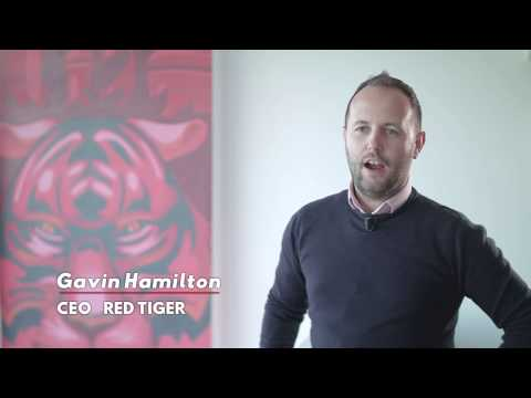 Red Tiger CEO Gavin Hamilton