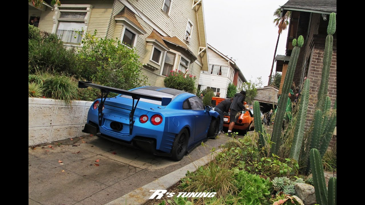 Forza Horizon 2 : Furious 7 (Nissan GTR) Top Speed Test Drive - YouTube