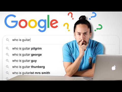 Google's Most Searched Guitar Questions
